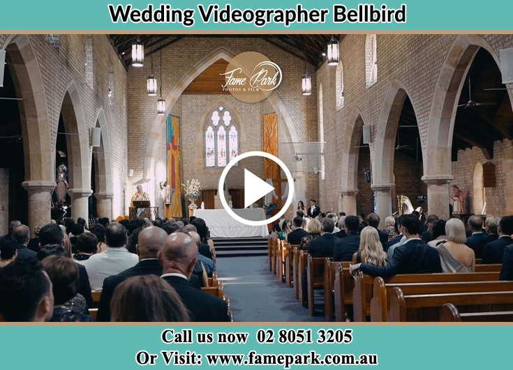 During the wedding ceremony Bellbird NSW 2325