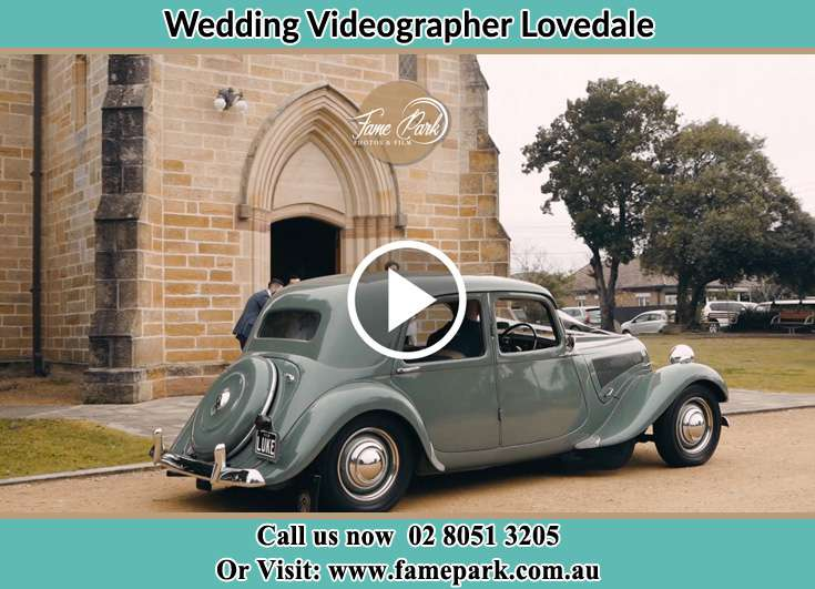 The wedding car Lovedale NSW 2325