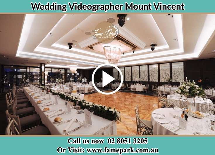 The wedding reception venue Mount Vincent NSW 2323