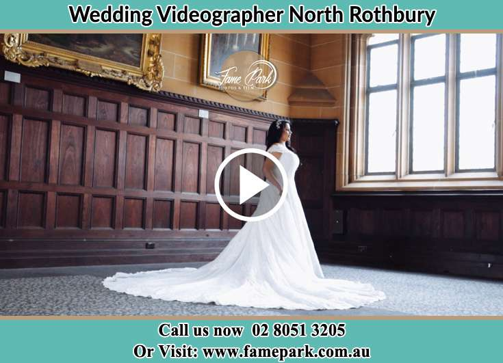 The Bride standing near the window North Rothbury NSW 2335